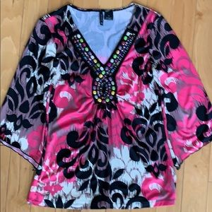 New Direction MultiColor Top